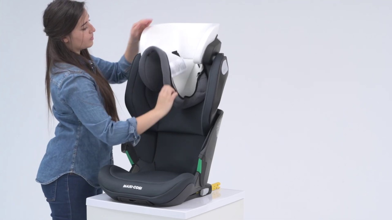 Maxi Cosi L Kore Pro I Size Car Seat L How To Remove And Replace The Cover Youtube