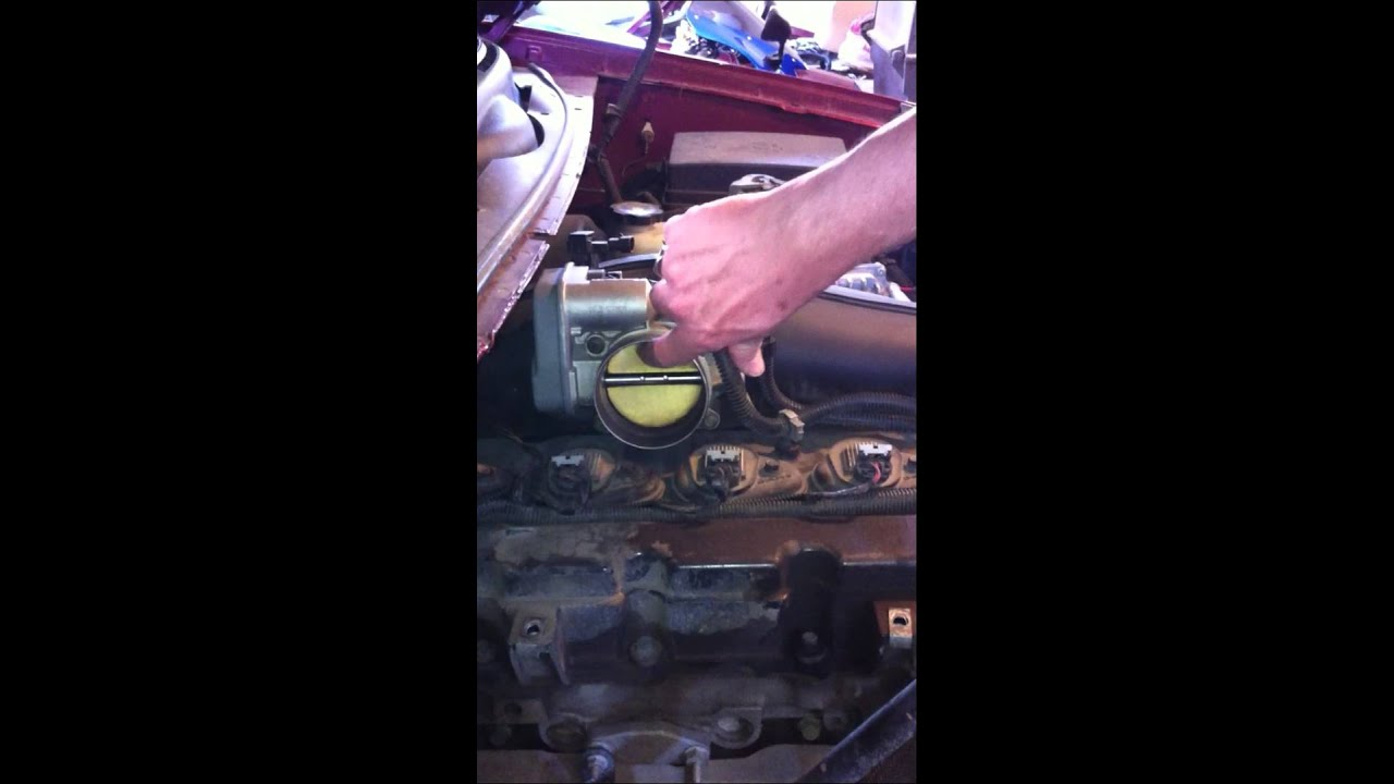 2002 GMC Envoy Reduced Engine Power Light - YouTube