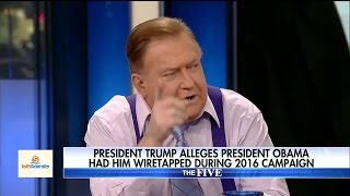 Bob Beckel EXPLODES At Eric Bolling Over Trump Wiretapping Accusation