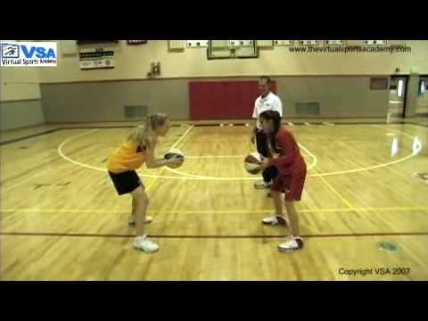 Two-Person Basketball Passing Drills
