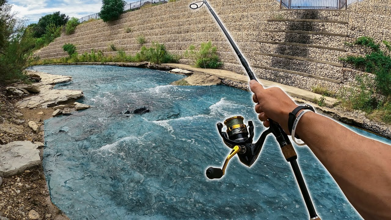 URBAN Ditch Fishing in Texas MINI CREEKS! (We FOUND Them!)