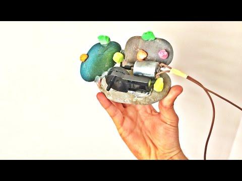 Taştan Hava Motoru Nasıl Yapılır ? Aquarium Air Pump