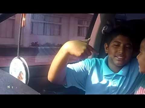 heading home from school Kanana Fou Elementary, American Samoa