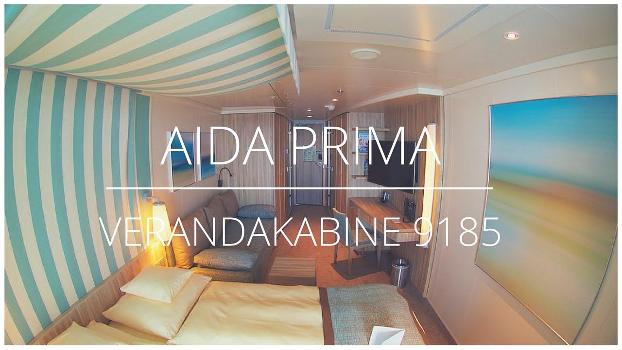 Aidaprima verandakabine komfort 9185 2 b der youtube for Badezimmer 4 x 2