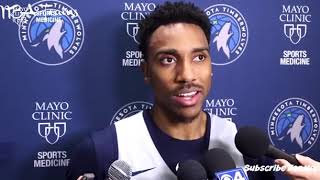 Jeff Teague Talks about Jimmy Butler in after practice Interview! October 10 2018