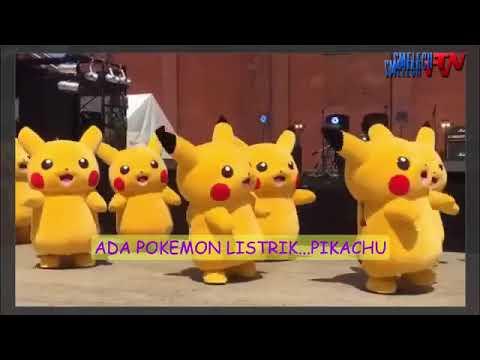 Lagu Pokemon Ada Pikacu Api,air,listrik,danrumput