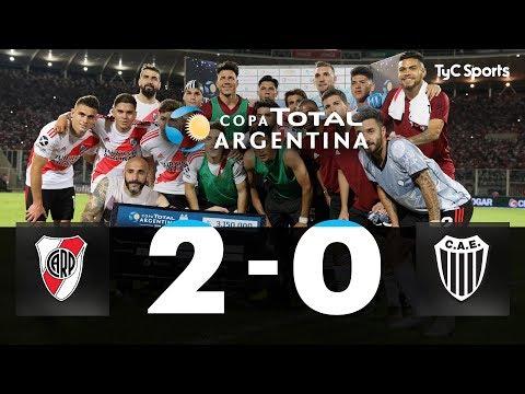 River Plate 2-0 Estudiantes (BA) | Semifinal | Copa Argentina 2019