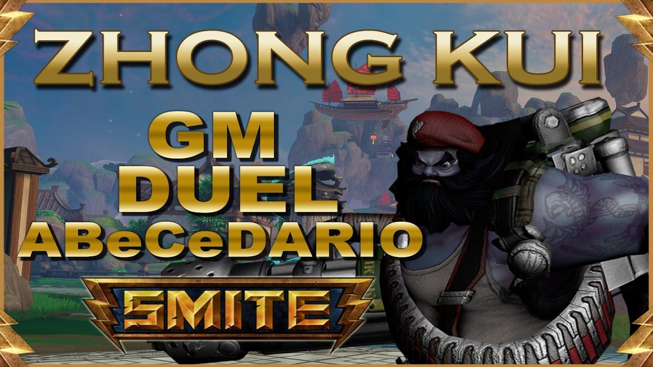 SMITE! Zhong Kui, El tipico sustain de ZK! GM Duel Abecedario #80