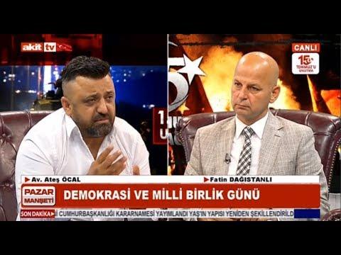 Pazar Manşeti - 15 Temmuz Demokrasi ve milli beraberlik günü
