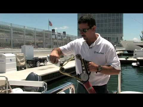 How to polish stainless hand rails with FEIN Pipe Polisher and SEA-SHIELD Metal Polish