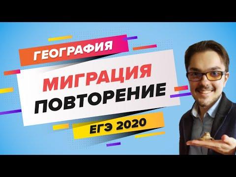 ЕГЭ 2020 ГЕОГРАФИЯ. Повторение темы