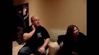 Dec 18 2004 - Backstage with Frank Black at Hammerstein Ballroom, New York before the Pixies Show