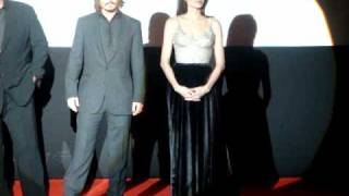 Angelina Jolie y Johnny Depp The Tourist en Madrid