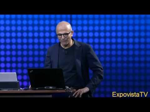 Satya Nadella Cortana Demo Epic Failure (Funny Video)