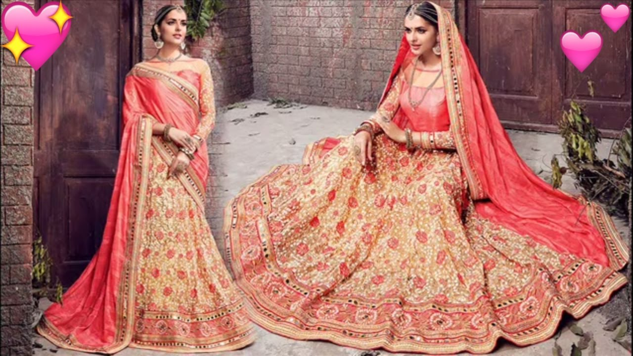 b583afc595 Designer Wedding Sarees For Reception Party To Look Slim: Latest Indian  Saree Blouse Designs Online