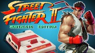 LA NES RECIBIRA UN NUEVO STREET FIGHTER 2!!! 🤯 (Family Game)