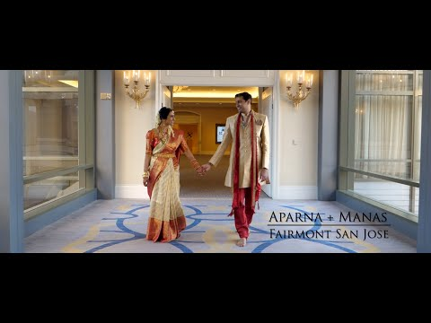 Aparna + Manas | Cinematic San Jose Indian Wedding Highlight