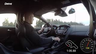 Ford Focus RS - In car - Serres Circuit