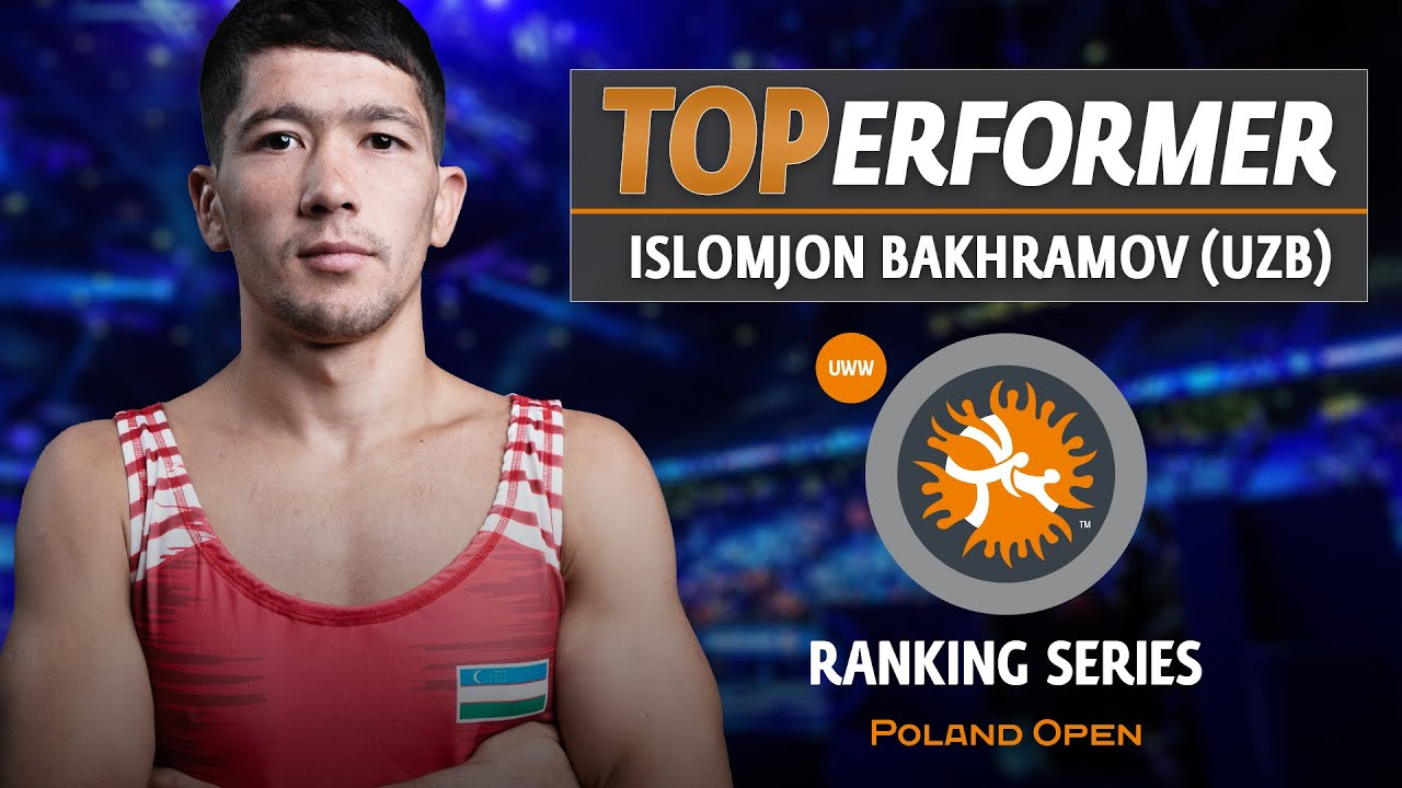 #WrestleWarsaw GR Top Performer: Islomjon BAKHRAMOV 🇺🇿