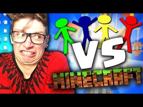 ST3PNY REACTION: Animation Vs Minecraft!!