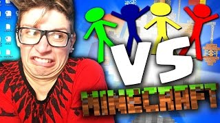 ST3PNY REACTION: Animation Vs Minecraft!!
