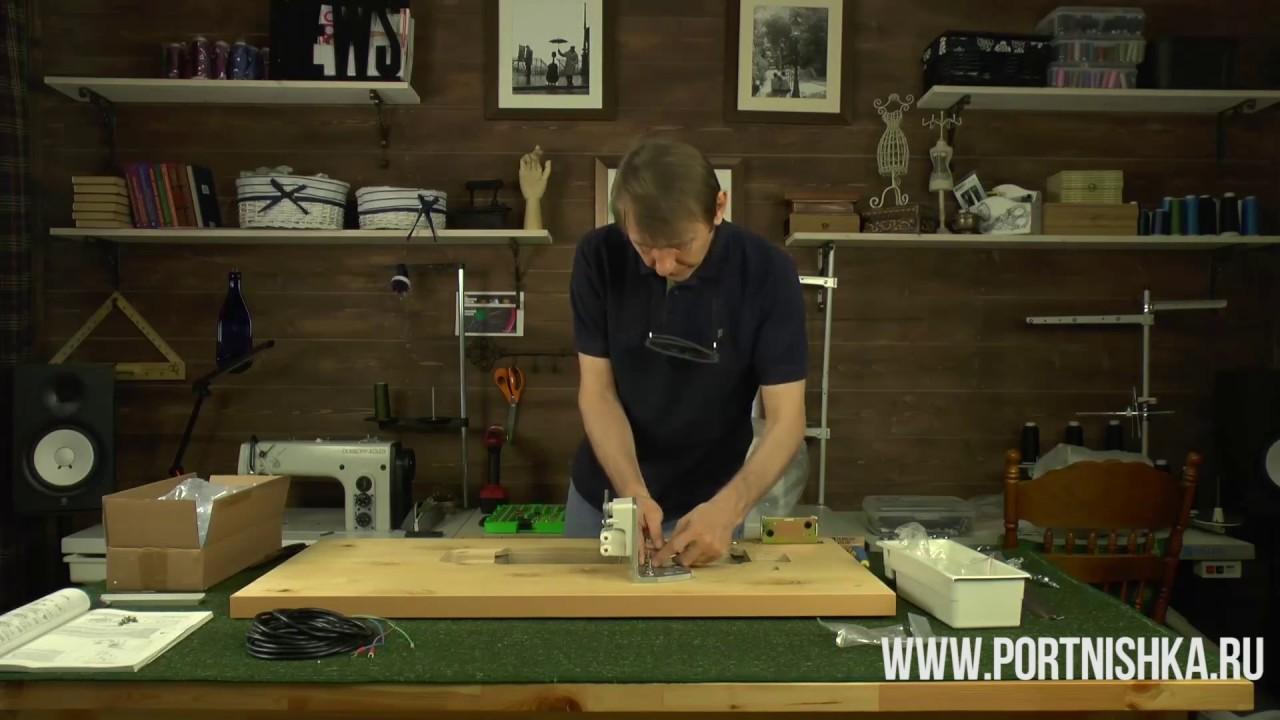 Промышленная швейная машина Juki DDL 8700 7 - YouTube