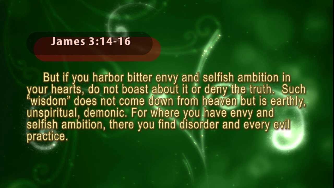 Jealousy, Envy, What the Bible Says