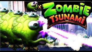 Zombie Tsunami #13 Игровой мультик для детей про зомби, веселый детский мультик игра для малышей