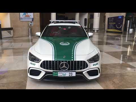 Dubai Police Exotic Cars
