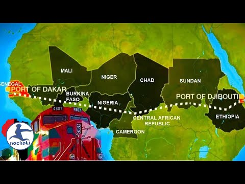 Africa is Building One of The Longest Railway Lines in The World