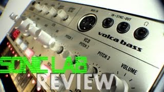 Korg Volca Bass - Sonic LAB Review