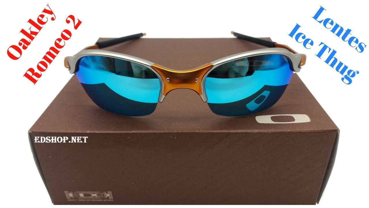d5c3d5ce6b426 Óculos Oakley Romeo 2 X Metal Lente Ice Thug - YouTube