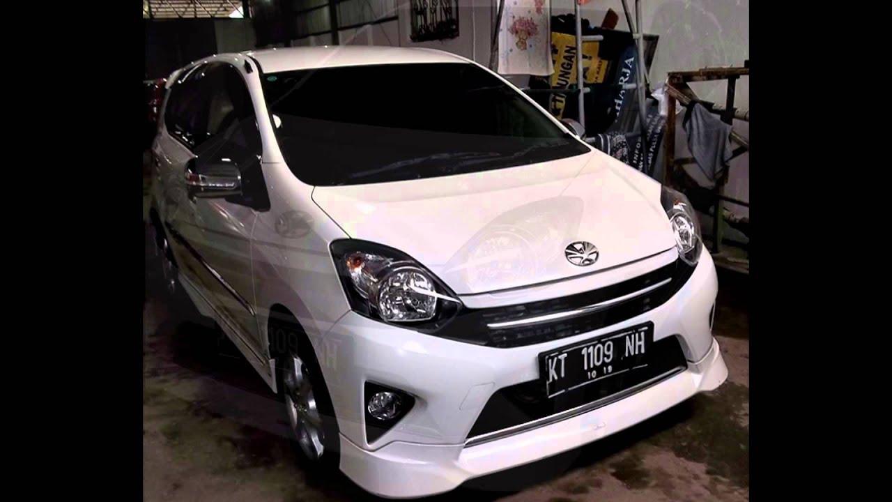 Dijual Mobil Toyota Agya TRD 2014 M T Putih Samarinda HP