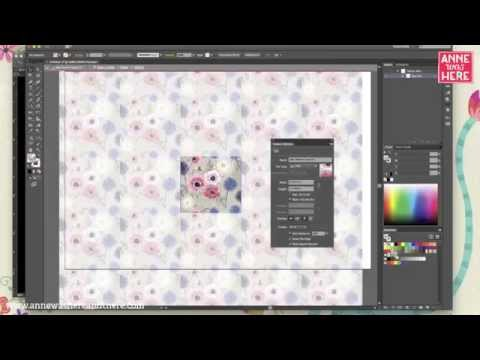 how to create a half drop repeat pattern in photoshop