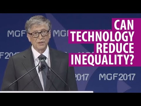 Bill Gates and Sal Khan: how technology can reduce inequality