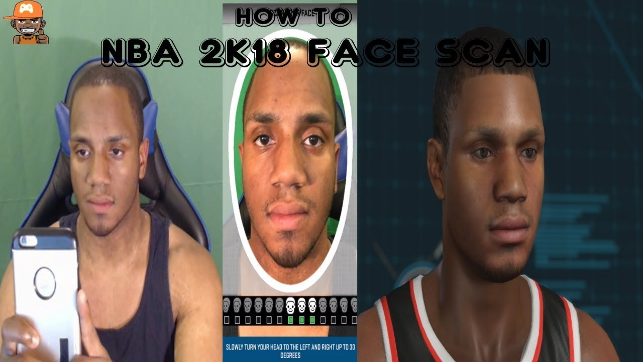 How To Face Scan On NBA 2K18 Guide