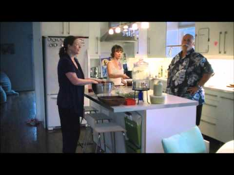 Raw Food For My Life - Bill Barlow Comes for Dinner