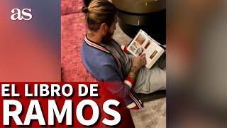 REAL MADRID | SERGIO RAMOS y el LIBRO de cultura que está leyendo | DIARIO AS