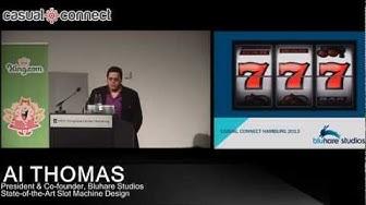 State-of-the-Art Slot Machine Design | Al THOMAS