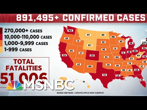 Today, The U.S. Passed 50,000 Deaths Due To COVID-19 | MTP Daily | MSNBC