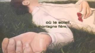 Le dormeur du val A. Rimbaud musique douce guitare karaoke by biccounnet
