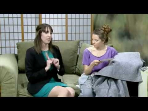 "Randi Krasny as the ""Quirky Friend"" on City TV 16 Santa Monica"