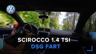 Scirocco 1.4 TSI EXHAUST SOUND & DSG FART