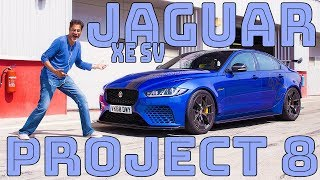 Jaguar XE SV Project 8: Quick First Drive - VERY QUICK on Track!
