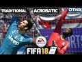 FIFA 18 | Acrobatic vs Traditional GK Save Styles | Do They Make a Difference? 1080p 60fps @Onnethox