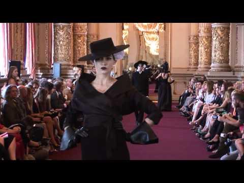"""Desfile Pablo Ramirez en el Teatro Colón - Colección Invienro 2012 """"Carmen"""""""