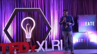 It is ok not to speak in English | Divya Prakash Dubey | TEDxXLRI
