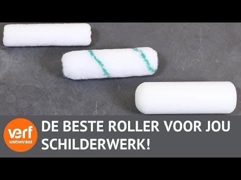 Vaak Welke roller moet je gebruiken?   Lakrollers! - YouTube EU99