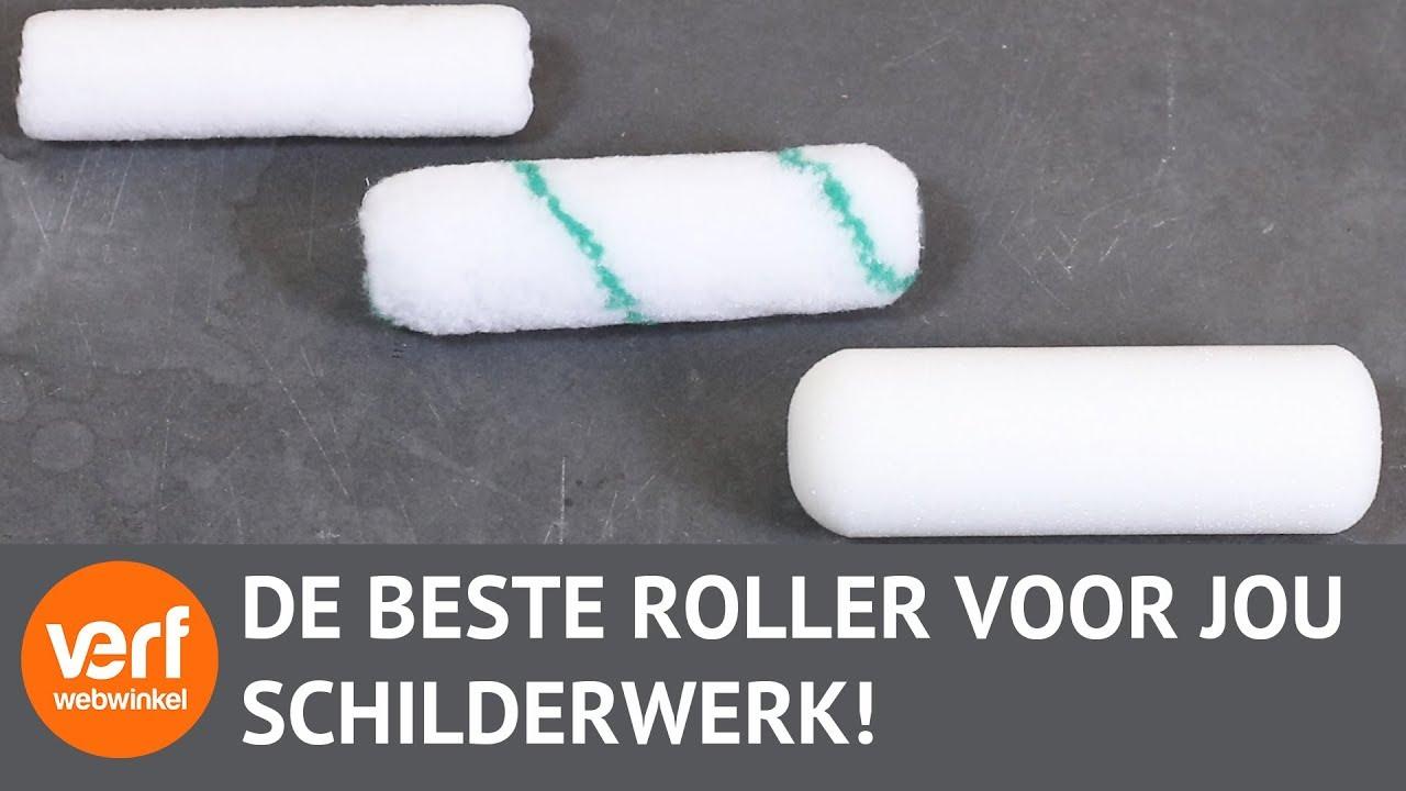 Super Welke roller moet je gebruiken?   Lakrollers! - YouTube XE47