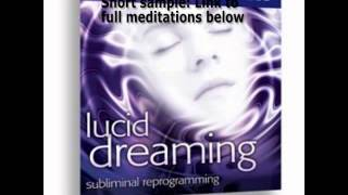 Learn Lucid Dreaming Theta Waves Subliminal Reprogramming Kelly Howell Brain Sync Pt 1